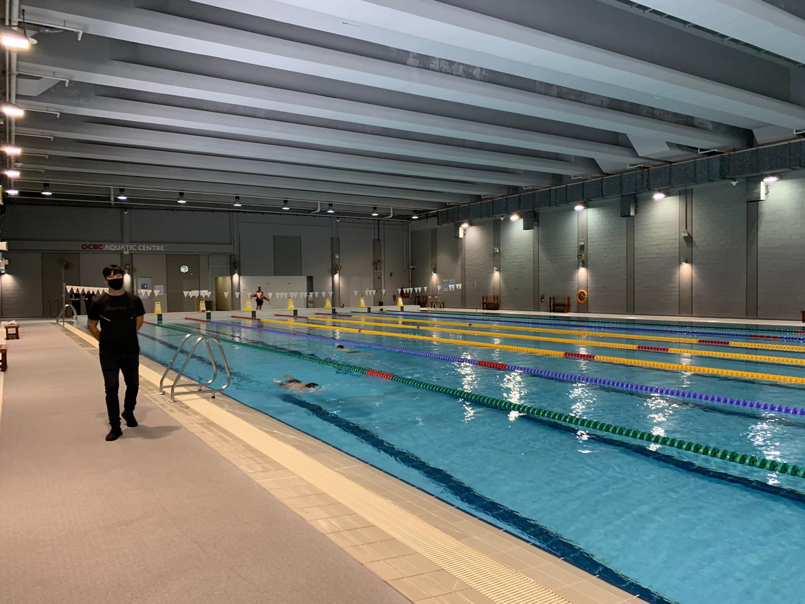 Singapore Sports Hub – OCBC Aquatic Centre